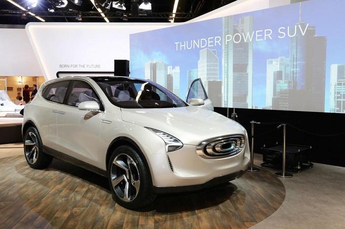 استارتاپ الکتریکی چینی به نام Thunder Power اس یو وی جدید خود را به معرفی کرد.