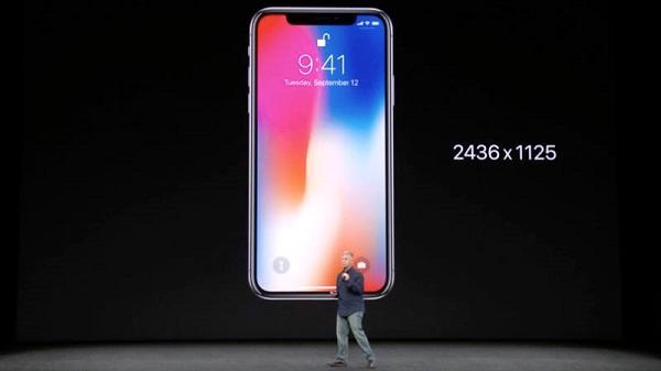 طراحی آیفون ایکس اپل با یک نمایشگر بزرگ