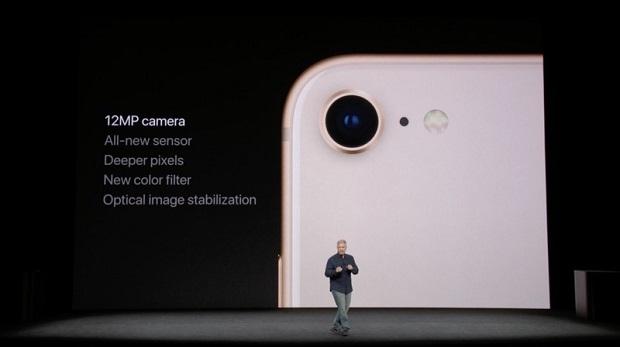 دوربین آیفون 8