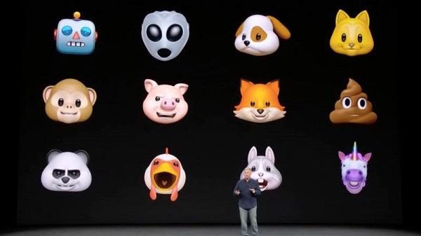 انیموجی در آیفون ایکس اپل
