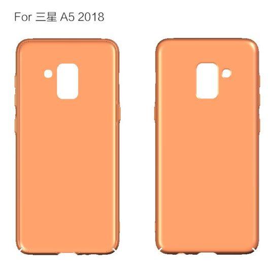 رندرهایی از قاب گلکسی A5 مدل 2018 منتشر شد