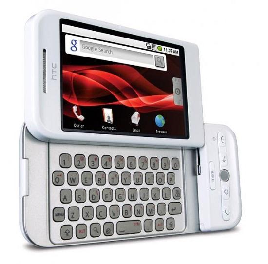 گوشی HTC Dream با سیستم عامل اندروید 1.0