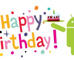 سیستم عامل اندروید ۹ ساله شد؛ اندروید تولدت مبارک!