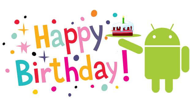 سیستم عامل اندروید 9 ساله شد؛ اندروید تولدت مبارک!