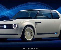 خودروی مفهومی الکتریکی هوندا اوربان ای وی