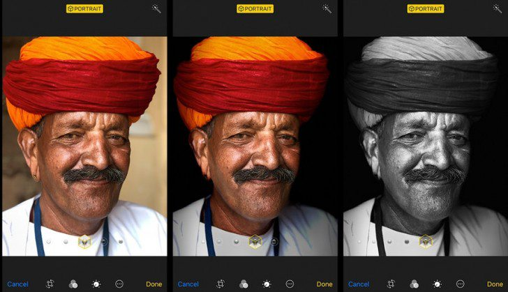 Portrait Lighting آیفون 8