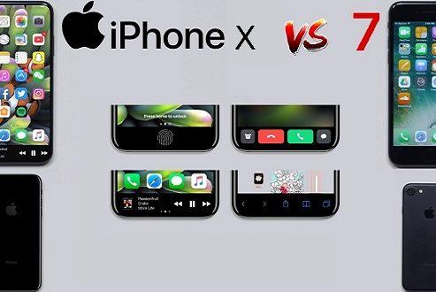 مقایسه آیفون ایکس با آیفون ۷ اپل؛ نبردی بین دو نسل از یک خانواده