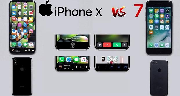 مقایسه آیفون ایکس با آیفون 7 اپل؛ نبردی بین دو نسل از یک خانواده