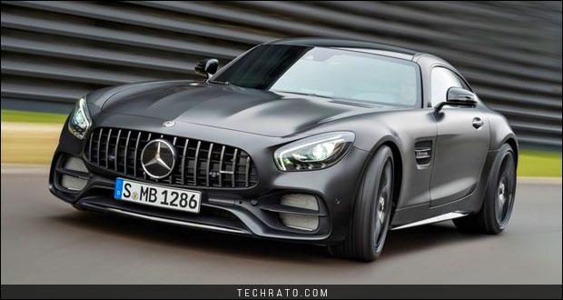 دانلود والپیپر مرسدس ای ام جی GT C کوپه (Mercedes AMG GT C) با کیفیت HD