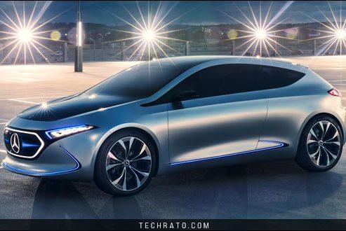 دانلود والپیپر مرسدس بنز ای کیو ای (Mercedes Benz EQA Concept) با کیفیت HD