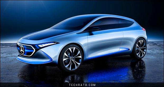 معرفی خودروی مفهومی مرسدس بنز EQA در نمایشگاه خودروی فرانکفورت 2017