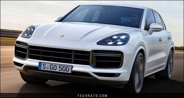 معرفی نسل سوم پورشه کاین توربو ۲۰۱۹ در نمایشگاه خودروی فرانکفورت ۲۰۱۷