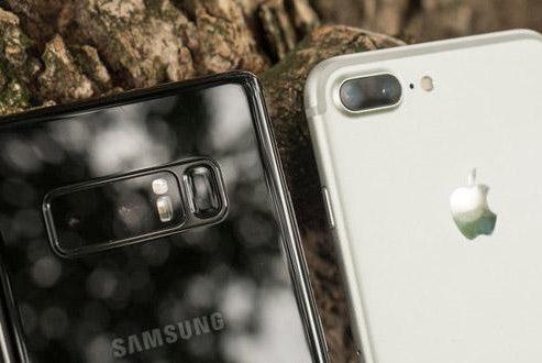 مقایسه دوربین گلکسی نوت ۸ با آیفون ۷ پلاس در عکاسی پرتره