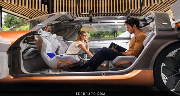 خودروی مفهومی رنو سیمبیوز
