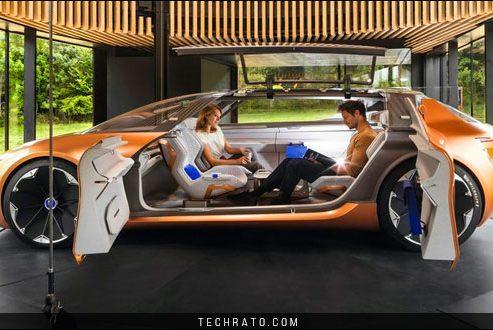 دانلود والپیپر خودروی مفهومی رنو سیمبیوز (Renault Symbioz) با کیفیت HD