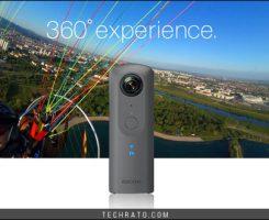 دوربین 360 درجه تتا وی ریکو