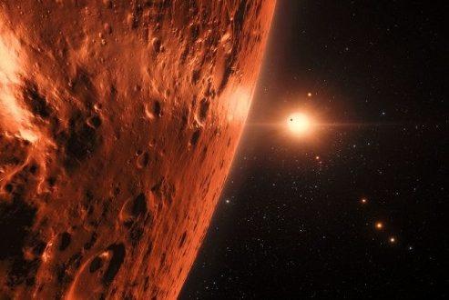 کشف نخستین علائم آب در منظومه تراپیست-۱