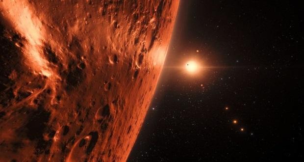 کشف نخستین علائم آب در منظومه تراپیست-1