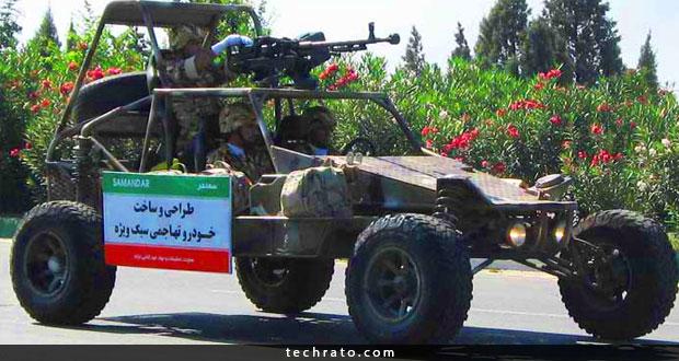 مروری بر خودروهای نظامی ساخت ایران به مناسب هفته دفاع مقدس