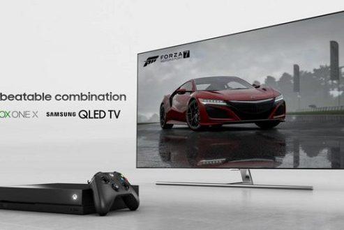 سامسونگ با همکاری سازندگان ایکس باکس، تلویزیون جدید تولید میکند