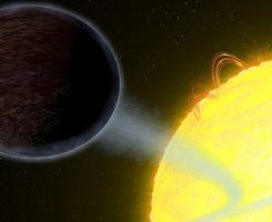تلسکوپ فضایی هابل موفق به کشف سیارهای به سیاهی آسفالت شد