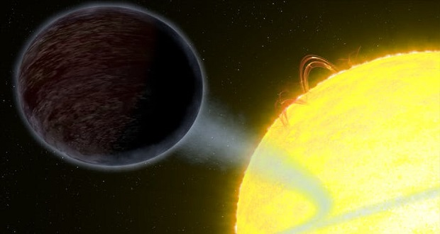 تلسکوپ هابل موفق به کشف سیارهای به سیاهی آسفالت شد