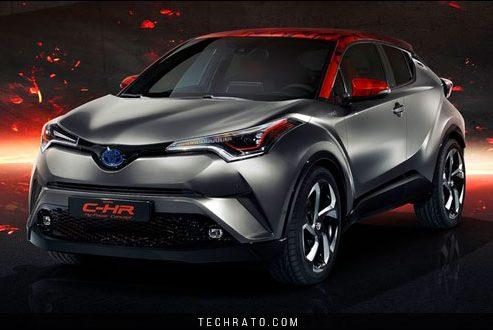 معرفی تویوتا C-HR های پاور (Hy-Power) در نمایشگاه خودروی فرانکفورت ۲۰۱۷