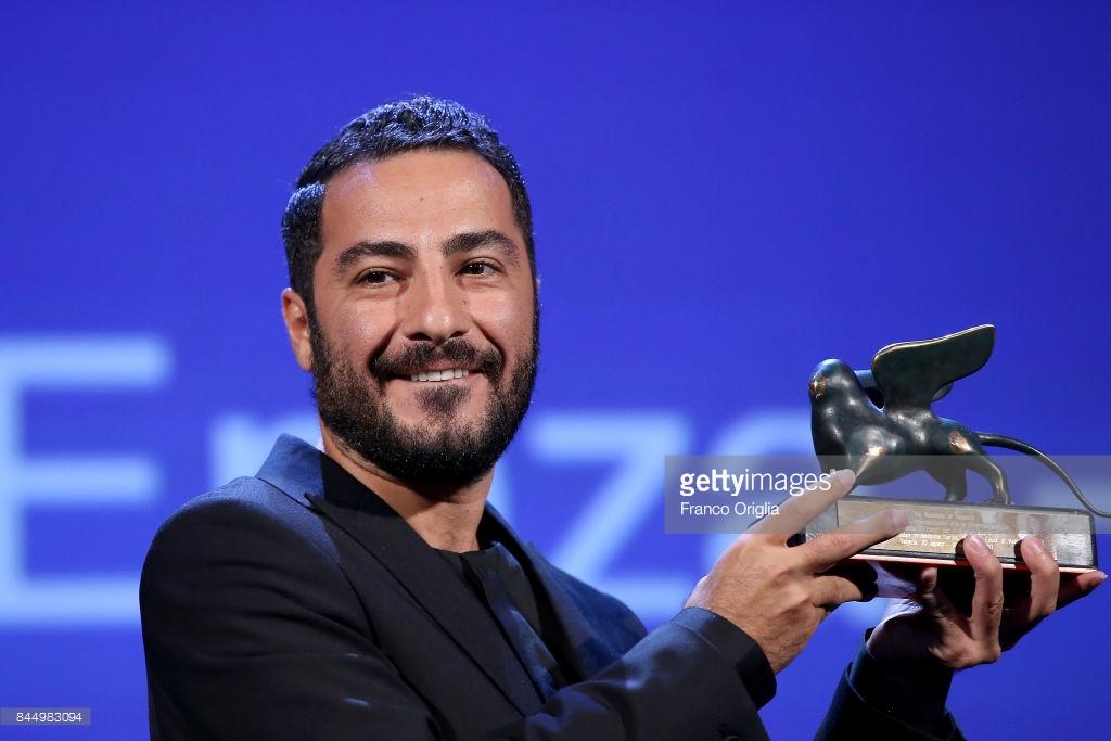نوید محمدزاده در جشنواره فیلم ونیز 2017 | برنده جایزه بهترین بازیگر بخش افق های نو