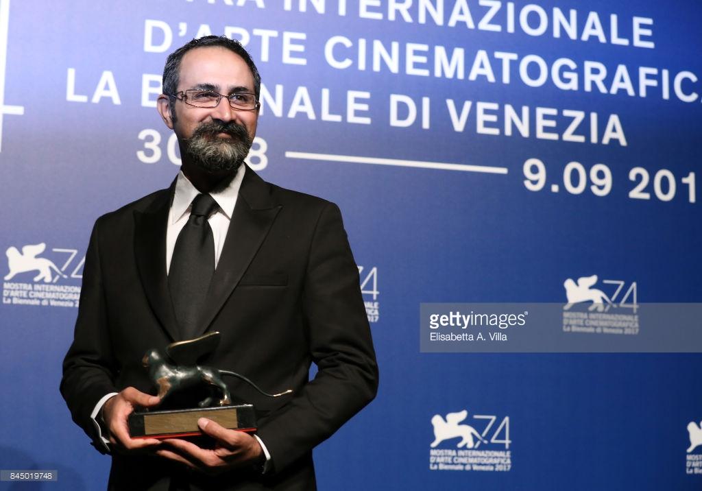 وحید جلیلوند در جشنواره فیلم ونیز 2017 | برنده جایزه بهترین کارگردانی بخش افق های نو