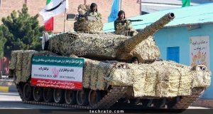خودروهای نظامی ساخت ایران