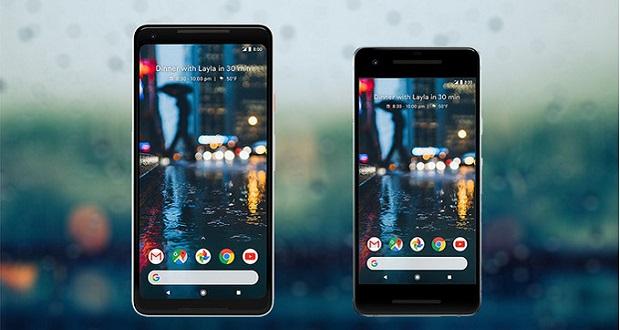 مقایسه اندازه گوگل پیکسل 2 و پیکسل 2 ایکس ال با گوشیهای پیشرفته موجود در بازار
