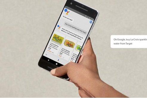 خرید کردن با گوشی هوشمند توسط گوگل اسیستنت