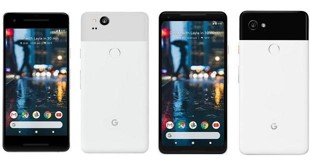لیست کامل مشخصات گوشیهای گوگل پیکسل 2 ایکس ال و گوگل پیکسل 2!