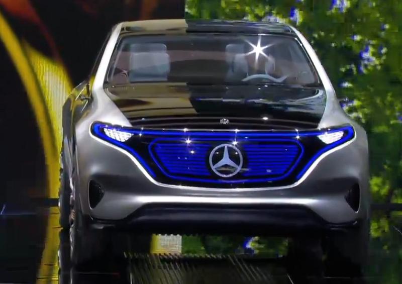 2. مرسدس از کانسپت اس یو وی الکتریکی خود در نمایشگاه خودروی پاریس رونمایی کرد. این خودرو، نسخه استاندارد مدلی خواهد بود که احتمالا تا پایان سال 2019 عرضه می شود.