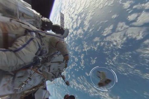اولین ویدیو ۳۶۰ درجه منتشر شده از یک راهپیمایی فضایی [تماشا کنید]