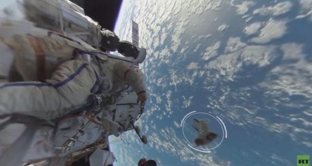 اولین ویدیو ۳۶۰ درجه منتشر شده از یک راه پیمایی فضایی [تماشا کنید]