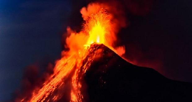 فجایع آتشفشانی عظیم
