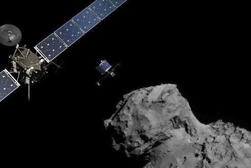 کشف غیرمنتظره آخرین عکس فضاپیمای روزتا