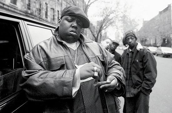 نوتوریوس بی. آی. جی (Notorious B.I.G) یکی از مشهورترین رپرهای امریکایی است