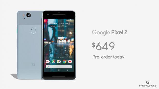 مقایسه گوگل پیکسل 2 با آیفون 10 : قیمت