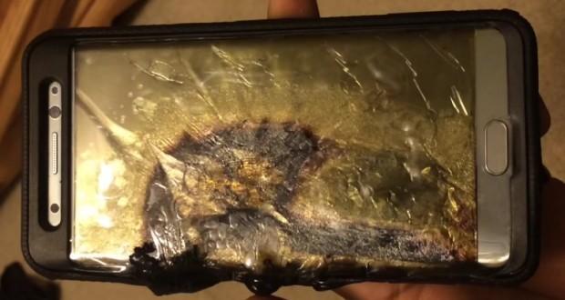 انفجار موبایل سامسونگ باعث دردسر صاحبش شد