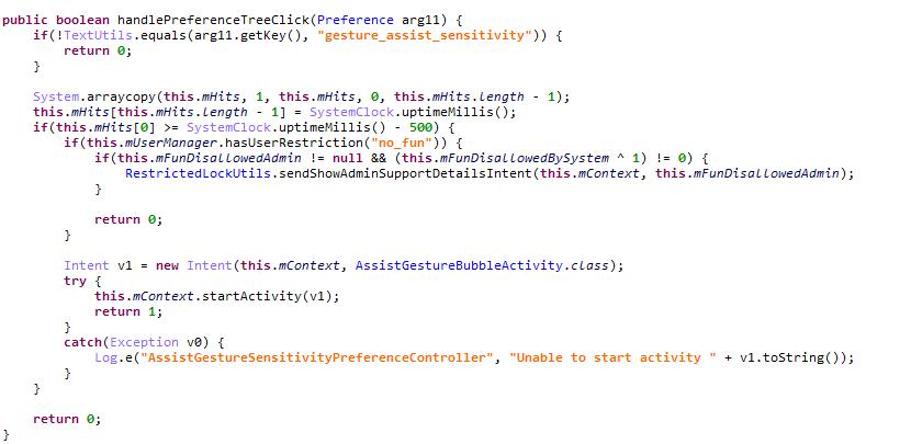 کد دسترسی به تخم مرغ عید پاک مخفی گوگل پیکسل 2