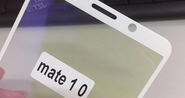 تصویر جدیدی از پنل اصلی هواوی میت 10 در فضای آنلاین منتشر شد