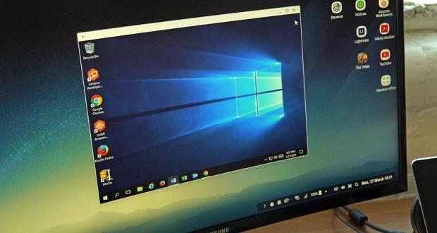 اجرای ویندوز 10 در محیط سامسونگ Dex امکان پذیر شد