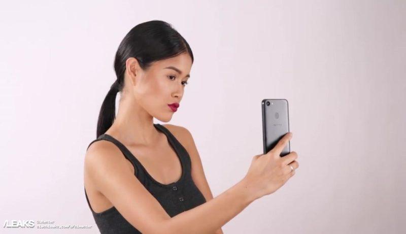 گوشی اوپو اف 5 با حاشیه های بسیار باریکی همراه است،