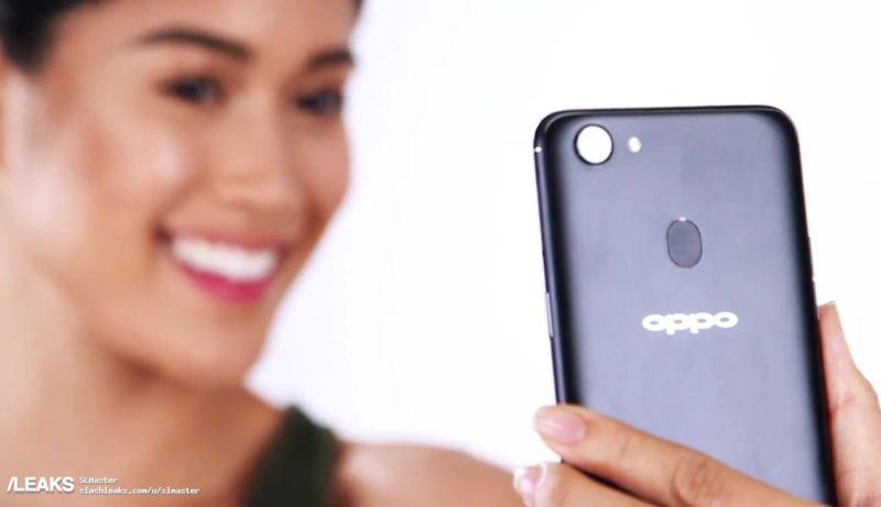گوشی هوشمند اوپو اف 5 به دوربین تک لنزی و اسکنر اثرانگشت در پنل پشتی خود مجهز شده است.