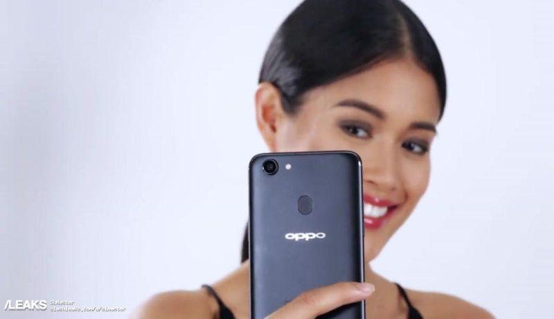 در این عکس ها، طراحی گوشی اوپو اف 5 به خوبی نمایش داده شده است