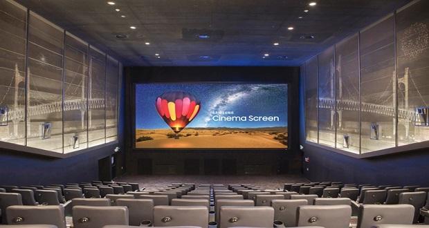 پرده سینمای LED سامسونگ در راه سالنهای سینمای تایلند