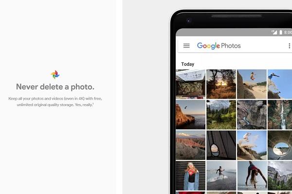 ذخیره سازی نامحدود گوگل فوتوز