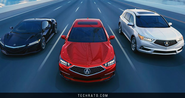 معرفی خودروهای سال 2018 میلادی : خودروهای تولیدی سال ۲۰۱۸ آکورا (Acura)